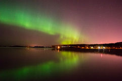Aurora borealis Royalty Free Stock Photo