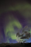 Aurora borealis or the northern lights Royalty Free Stock Image