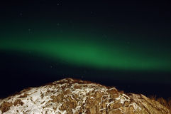 Aurora borealis (northern lights) Royalty Free Stock Photography