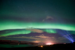 Aurora Borealis in Iceland Royalty Free Stock Images