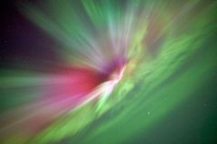 Aurora borealis, northern lights Royalty Free Stock Images