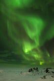 Aurora Borealis or Northern Lights. Royalty Free Stock Photography
