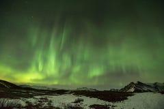 Aurora Borealis or Northern Lights. Stock Image
