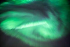 Aurora Borealis or Northern Lights. Stock Photography