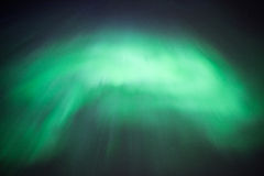 Aurora Borealis or Northern Lights. True geomagnetic storm in Norway Royalty Free Stock Image