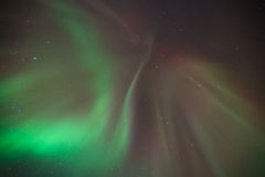 Aurora borealis in norway Royalty Free Stock Image