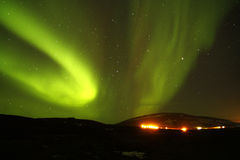 The Aurora Borealis Royalty Free Stock Photos
