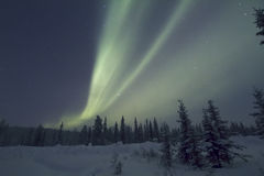Aurora Borealis, Raattama, 2014 02 21 - 16 Photos stock
