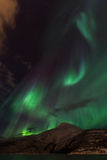Aurora Borealis Scenery Fotografering för Bildbyråer
