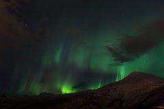 Aurora Borealis Scenery Royaltyfri Fotografi