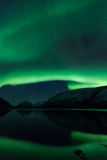 Aurora Borealis Scenery Royalty Free Stock Photos