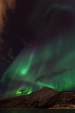 Aurora Borealis Scenery Royalty Free Stock Photo