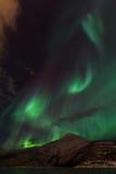 Aurora Borealis Scenery Stock Image