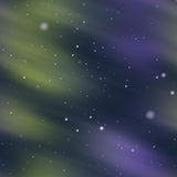 Aurora borealis seamless image Stock Image