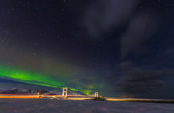 Aurora Borealis, South Iceland Royalty Free Stock Images