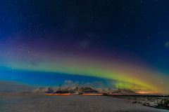 Aurora Borealis, South Iceland Royalty Free Stock Photos