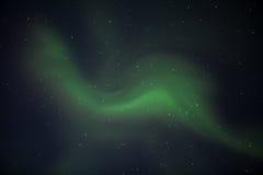 Aurora Borealis Wave Imagenes de archivo
