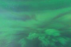Aurora Borealis-Zusammenfassungshintergrund Lizenzfreies Stockfoto