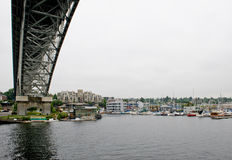 Aurora bridge Seattle Royalty Free Stock Photos