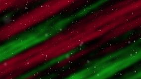 Aurora Christmas Snow Loop stock illustration
