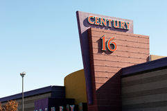 Aurora Colorado Theater Shooting Royaltyfri Bild