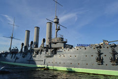 Aurora cruiser museum in St.Petersburg Stock Image