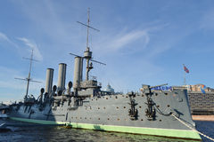 Aurora cruiser museum in St.Petersburg. Stock Photography