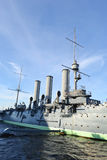 Aurora cruiser museum in St.Petersburg Royalty Free Stock Photo
