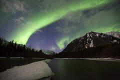 Aurora d'Alasca Fotografie Stock Libere da Diritti