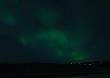 A Aurora de Alaska Foto de Stock Royalty Free