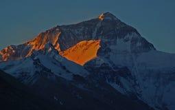 Aurora de Everest Foto de Stock Royalty Free