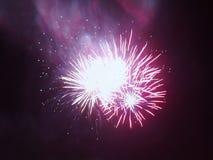 Aurora de explosão Borealis Foto de Stock