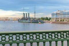 Aurora del crucero Imagen de archivo libre de regalías