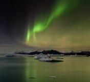 Aurora dell'Islanda Immagini Stock Libere da Diritti
