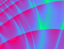 Aurora di Digitahi Fotografia Stock