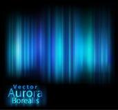 A Aurora do vetor ilumina o fundo Fotografia de Stock