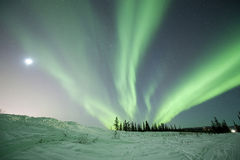 Aurora in Fairbanks Royalty Free Stock Images