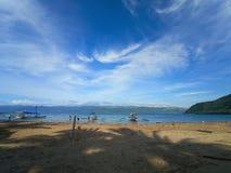 Aurora Filipinas de Dingalan de la bonita vista imagen de archivo