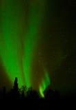 Aurora - hohe weiche Farbbänder Stockbilder