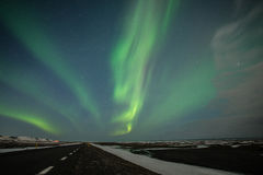 Aurora in Iceland. This is a photo of  aurora in iceland Royalty Free Stock Photo