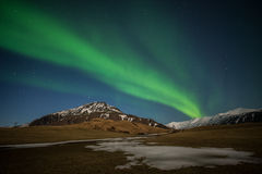 Aurora in Iceland Royalty Free Stock Photography