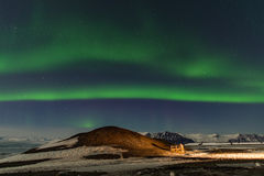 Aurora in Iceland Royalty Free Stock Images