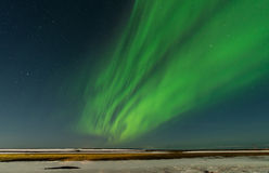Aurora in Island Lizenzfreie Stockfotografie