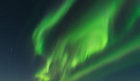 Aurora in Island Lizenzfreie Stockfotos