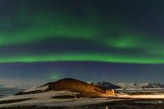 Aurora in Island Lizenzfreie Stockbilder