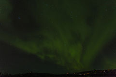 Aurora Landscape Fotografia de Stock Royalty Free