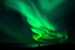 Aurora Lofoten imagenes de archivo