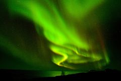 Aurora Lofoten Stock Photos