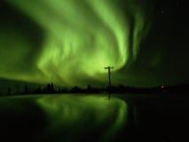 Aurora na cimeira de Cleary Imagens de Stock Royalty Free