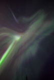 Aurora, night at alaska, fairbanks Stock Photos